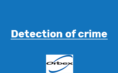Detection of crime