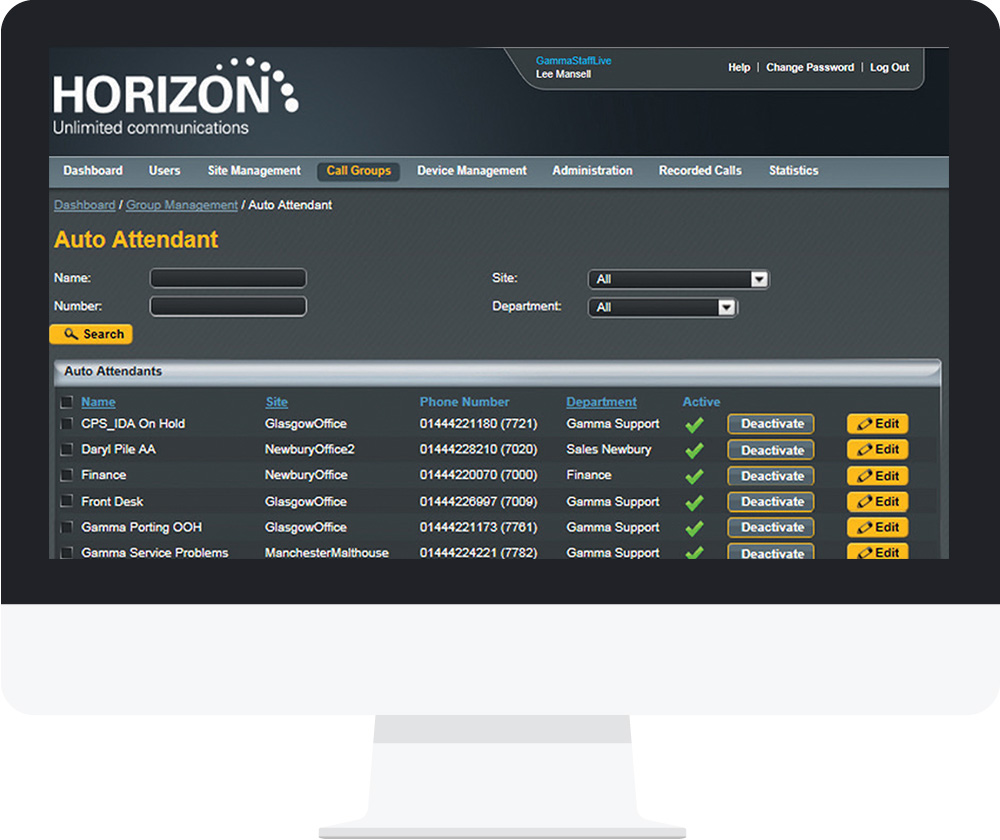 Horizon Web Portal and Clients