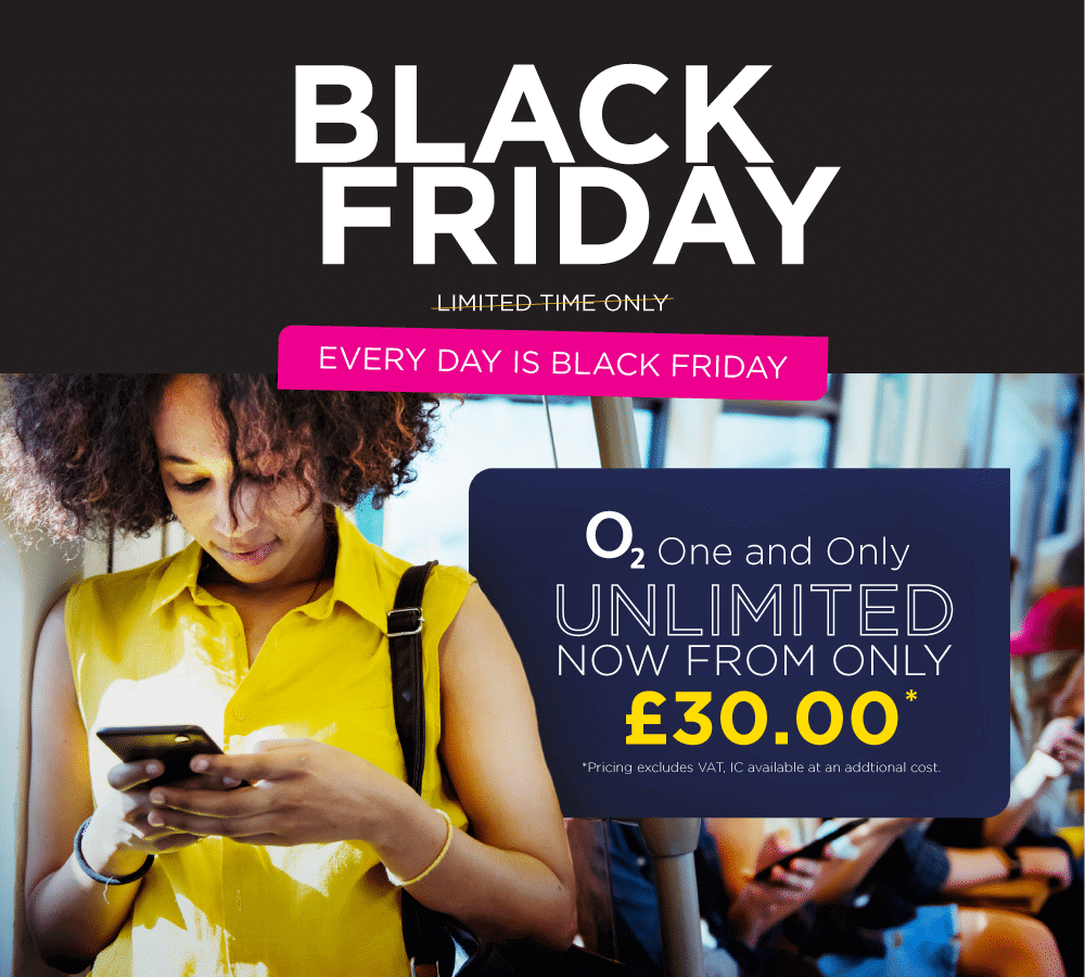 business mobiles black friday o2