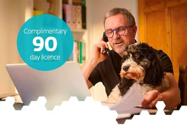 90 day complimentary internet security licence
