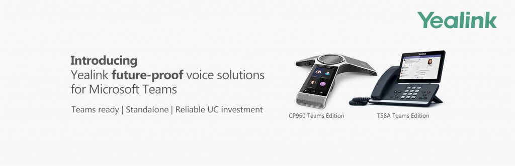 Yealink future- proof voice solutions