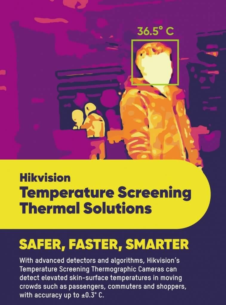 Thermal and Temperature Screening CCTV