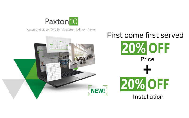 Paxton promotion - 20% OFF + 20% OFF
