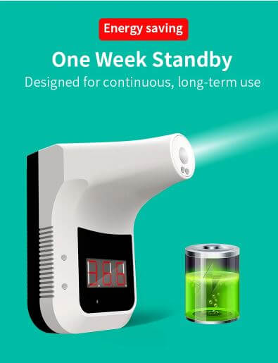 thermometer K3 - One week on standby