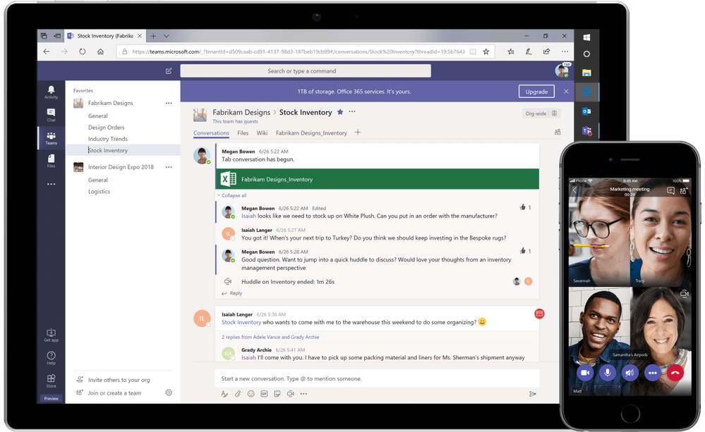 Microsoft Teams on all devices