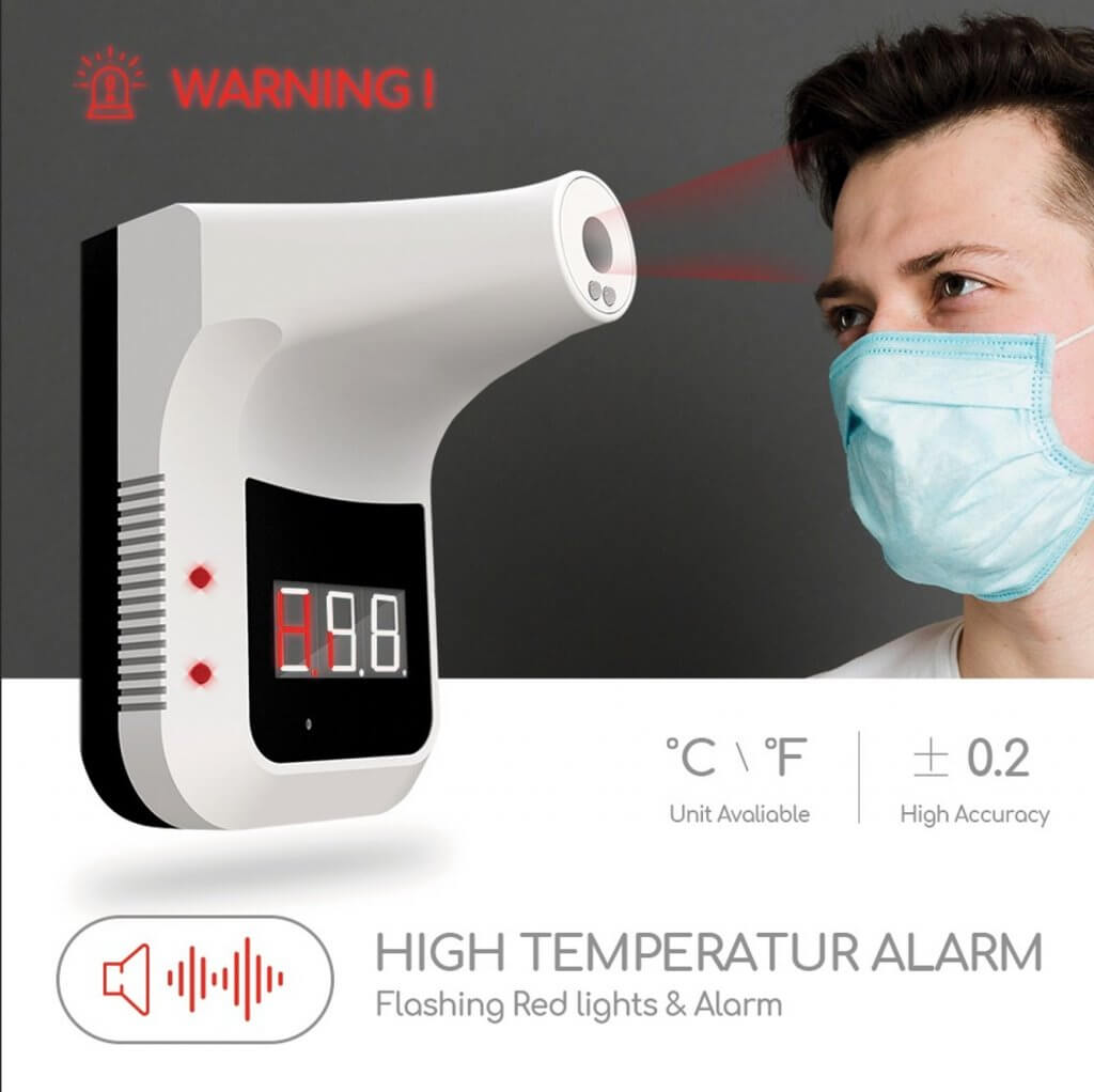 Non contact thermometer - K3 thermometer