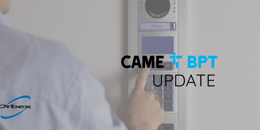 CAME BPT products update: Extended payment terms over next 6 months