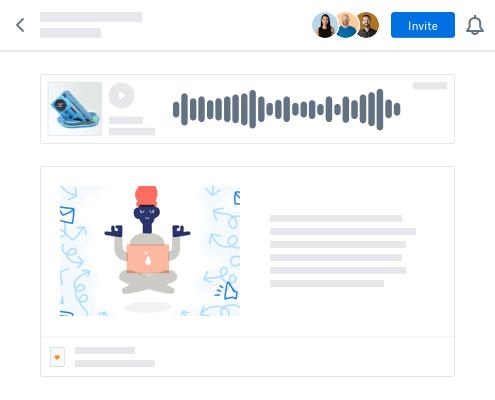 Dropbox content collaboration