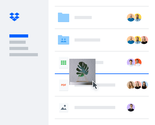 Share your files with Dropbox