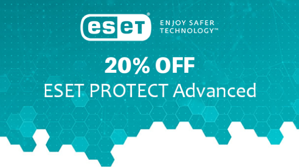 ESET PROTECT Advanced 20% OFF